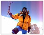 Marius Gane pe varful Gasherbrum