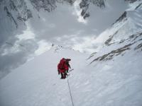Urcand spre tabara 4(7400m) - Gasherbrum