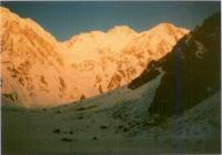 Versantul Diamir, vazut din tabara de baza (4000m)